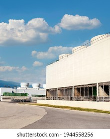 Buildingof the CERN particle accelerator located underground. - Shutterstock ID 1944558256