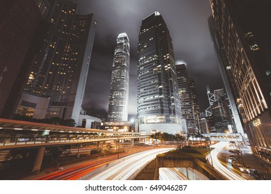 Buildings abstract hong kong building city