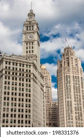 The buildings and architecture of Downtown Chicago.