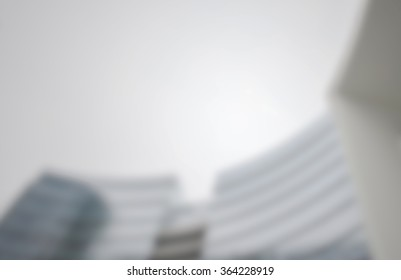 Buildings background with an intentional blur effect applied