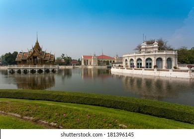 Buildings in Bang Pa In Royal Palace