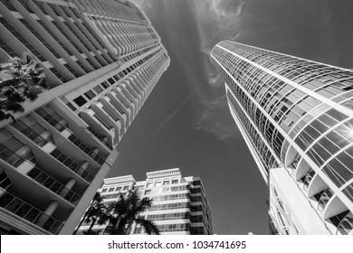 Buildings in Black & White