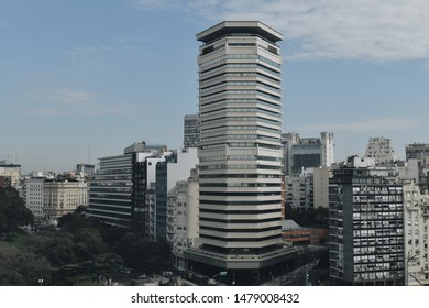 Buildings of Buenos Aires, Argentina. View from Torre Monumental. - Shutterstock ID 1479008432