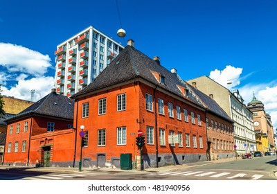Buildings in the city centre of Oslo, the Capital of Norway