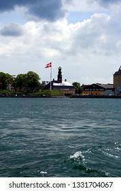 Buildings in the city Copenhagen, Denmark