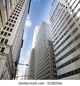 Buildings of a City Skyline