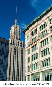 Buildings in downtown Buffalo - New York, United States