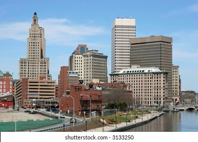 buildings in downtown Providence, RI