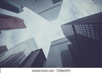 Buildings in downtown Toronto, Ontario, Canada