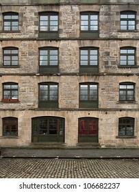 Building's facade,  Edinbrurgh