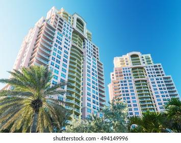 Buildings of Florida, USA.
