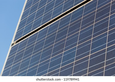 buildings have been replaced by solar panels