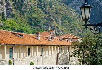 Buildings in Kotor, Montenegro