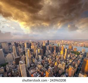 Buildings of Manhattan.