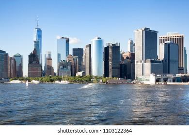 Buildings in Manhattan. New York