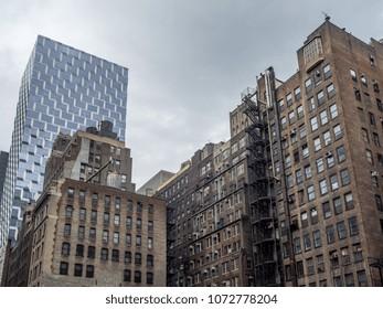 Buildings in Midtown, New York City.