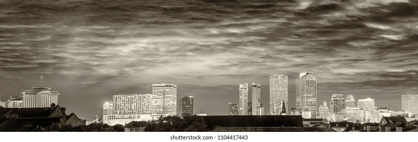 Buildings of New Orleans, Louisiana.