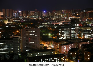 Buildings in night