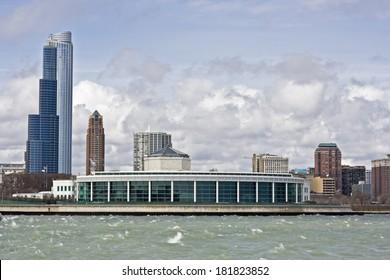 Buildings od South Loop in Chicago