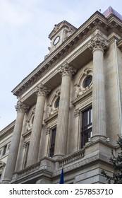 Buildings in old Bucharest