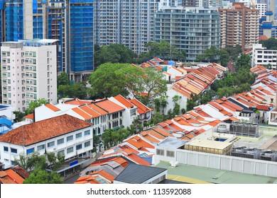 buildings at Singapore