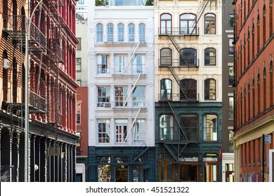 Buildings in the Soho neighborhood of Manhattan, New York City