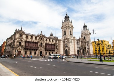 Buildings and streets in Peru