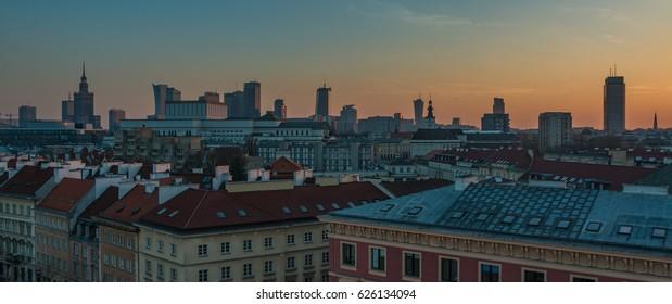 Buildings in Sunset II