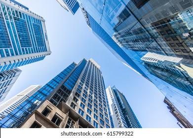 Buildings in Sydney Center