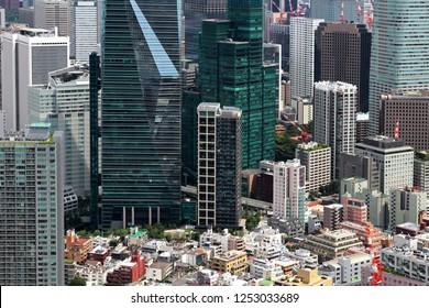 Buildings in Tokyo Roppongi