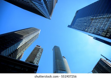 Buildings in Toronto city, Canada