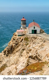 Built in 1870, the point Reyes Lighthouse is on a rocky cliff over the Gulf of Farallones in Point Reyes National Seashore, located in Marin County, California, United States.