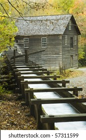 Built in 1886, this historic grist mill uses a water-powered turbine instead of a water wheel to power all of the machinery in the building