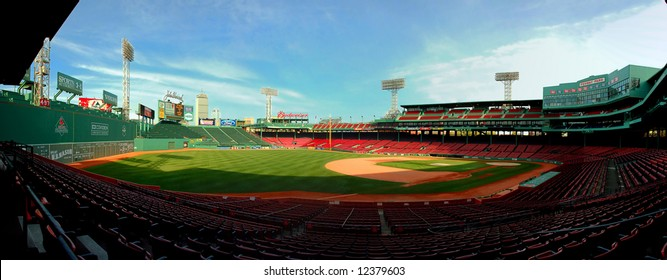 Built in 1912, beautiful Fenway Park is one of the best known and most historic landmarks in the city of Boston.