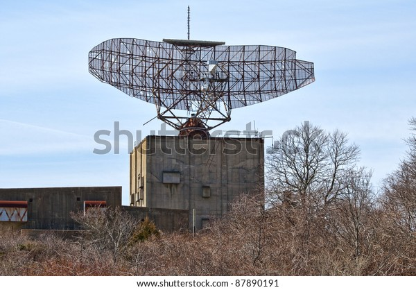 Built 1958 This Sage Radar Facility Stock Photo (Edit Now