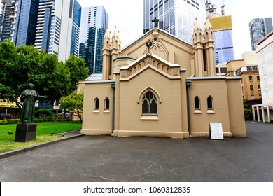 Built between 1841 and 1845, St Francis Church is Victoria oldest catholic church located in central Melbourne, Australia