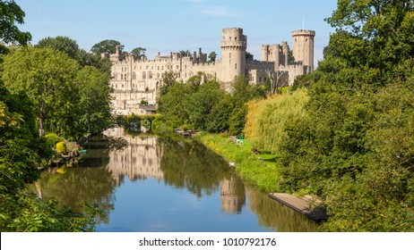 Built by William the Conqueror in 1068, Warwick Castle is a medieval castle in Warwick, the county town of Warwickshire, England. It sits on a bend on the River Avon.