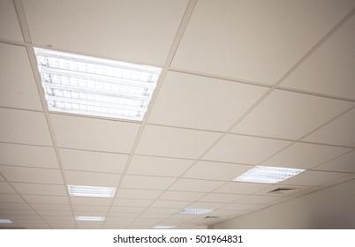 Built in ceiling lights