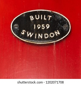 Built Swindon 1959 sign