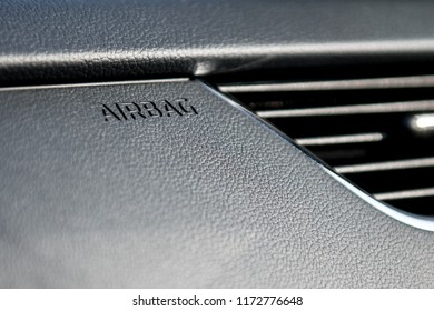 built-in airbag in the new car
