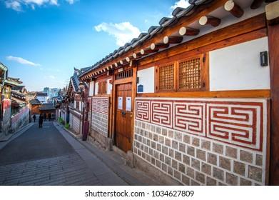 bukchon hanok village seoul korea