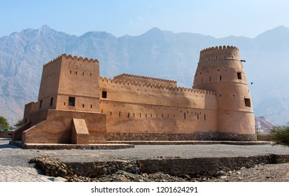 Bukha fort in Musandam Oman, Middle eastern architecture