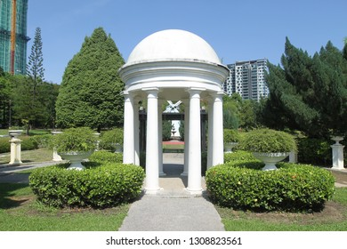 Bukit Jalil Park is a popular recreational park in the southern suburbs of Kuala Lumpur for picnicking, a children's playground, jogging and walking trails, exercise stations, and international garden
