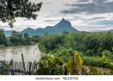 Bukit Salero, a hill that looks like a thumb. Locals call it Gunung Jempol (Mt Thumb). Lahat, South Sumatra/Sumatera Selatan