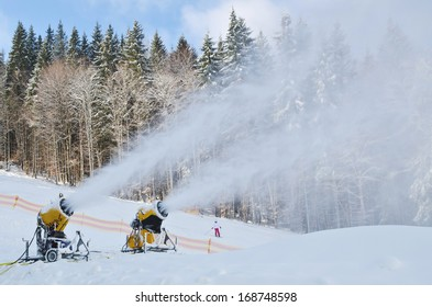 Bukovel ski resort.