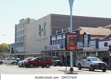 Bulawayo, Zimbabwe. August 10th 2015. Haddon and Sly department store on Fife Street. Established in 1894 with a larger building adjoining built in the 1950's.