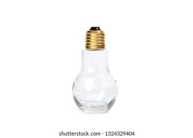 Bulb Bottle Clear