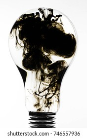 In the bulb ink clouds, as the versatility of uneconomical use of electricit