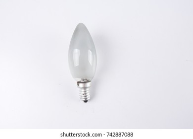 Bulb isolated on white background.
