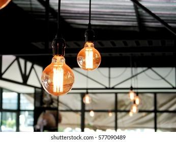bulbs suspension, idea for home decoration